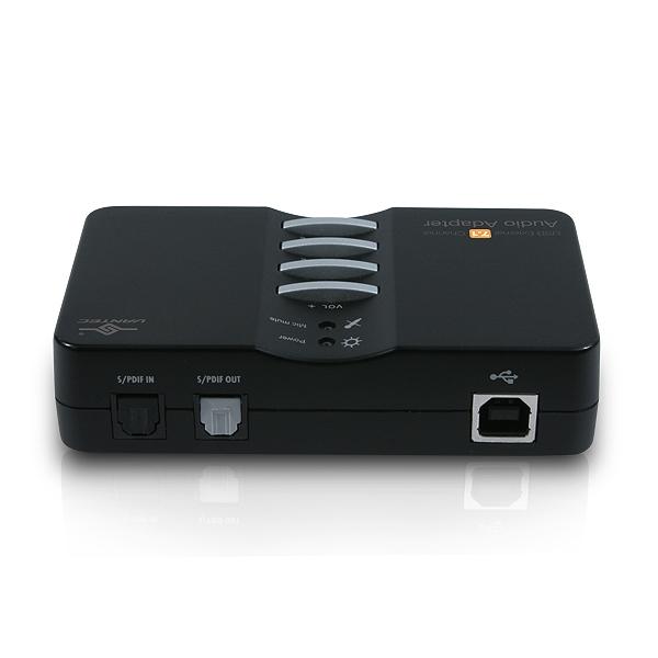 USB External 7 1 Channel Audio Adapter - Vantec Thermal