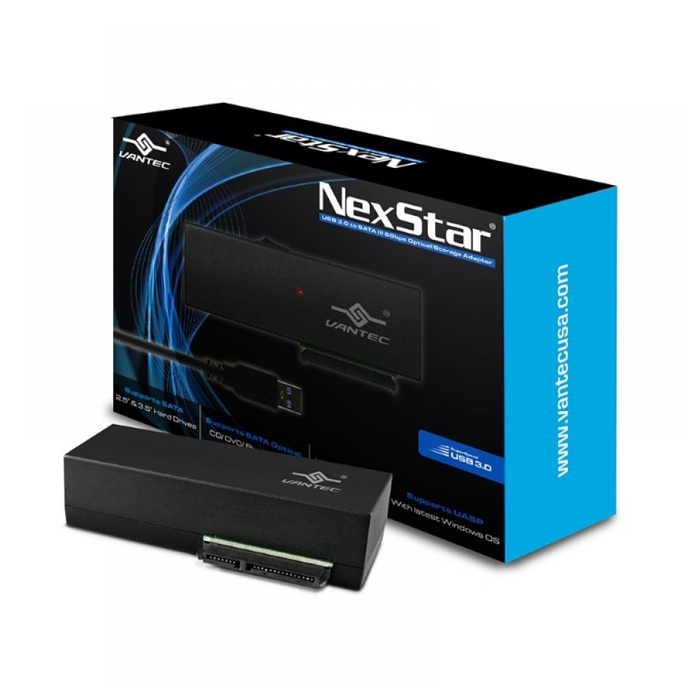 NexStar USB 3.0 to SATA 6Gbps Optical/Storage Adapter